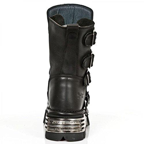 Nuovi Stivali Di Roccia M.1727-s3 Gotico Hardrock Punk Unisex Stiefel Schwarz