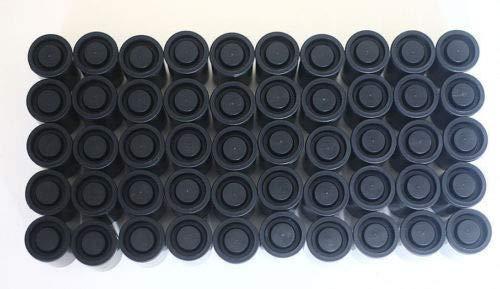 FidgetFidget 200PCS Empty Black Bottle 35mm Film cans canisters containers