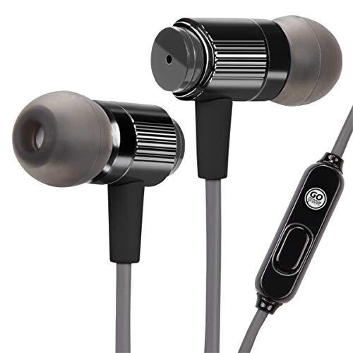 Gogroove - Audiohm Rnf In-ear Headphones - Black