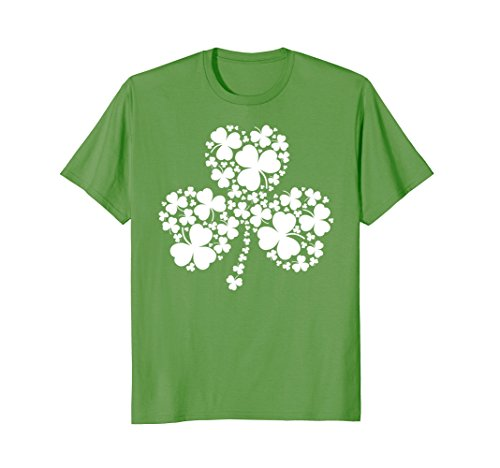 Shamrocks St. Patrick's Day Green T-shirt