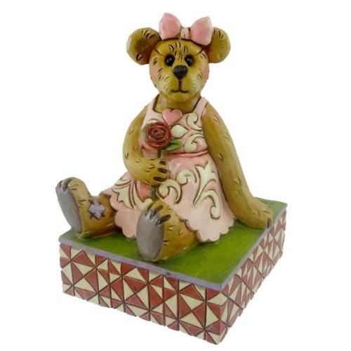 - Boyds Bears Valentine Bearstone Figurine (Rosalie Lovesalot) by Jim Shore