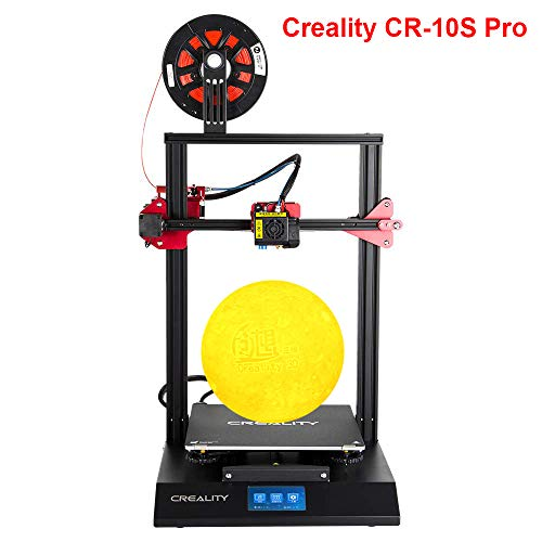 Creality CR-10S Pro FDM 3D Printer Creative, Auto Leveling Capricorn PTFE Dual Extruder Gears, 300x300x400mm, PLA ABS, for Hobbyists, Designers and Home users