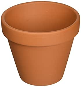 """5 - 4.25"""" Clay Pots - Great for Plants and Crafts"""