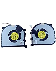 New Rangale Left & Right Side CPU Cooling Fan Compatible for Dell Precision 15 (5510) XPS 15 (9550) Series Cooler RVTXY 0RVTXY DFS501105PR0T