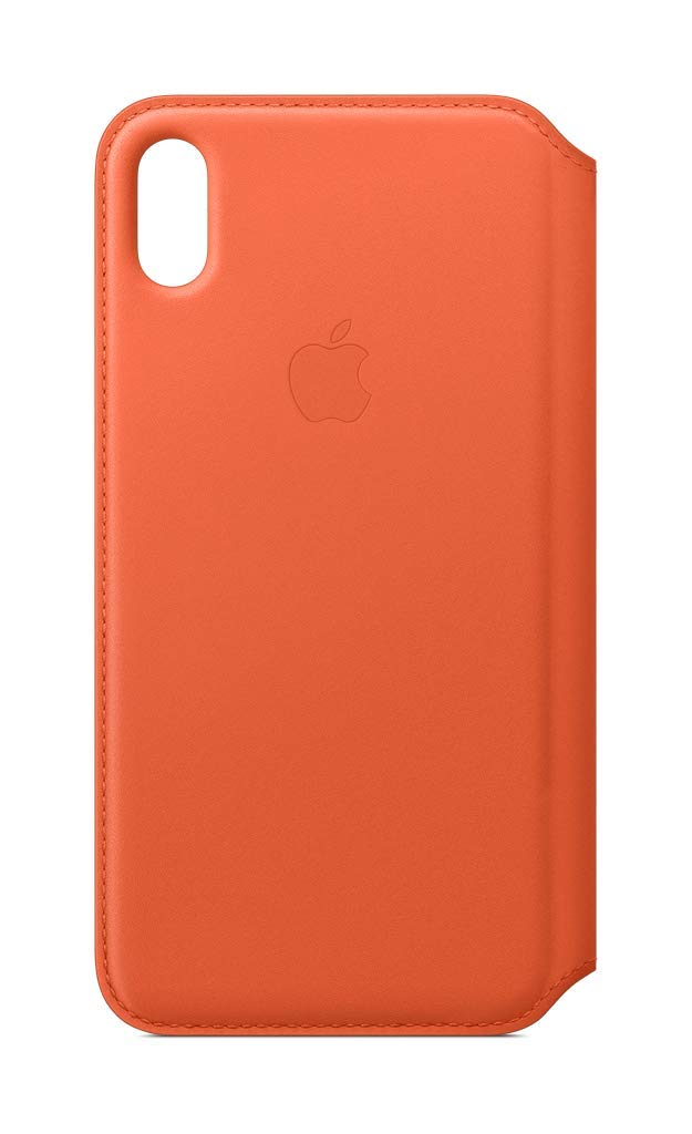 Apple Leather Folio (for iPhone Xs Max) - Sunset