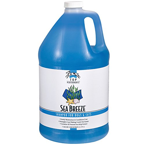 Top Performance Sea Breeze Dog and Cat Shampoo, 1-Gallon