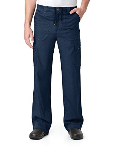 Carhartt Men's Petite Multi-Cargo Pant, Navy Blue, Large ()