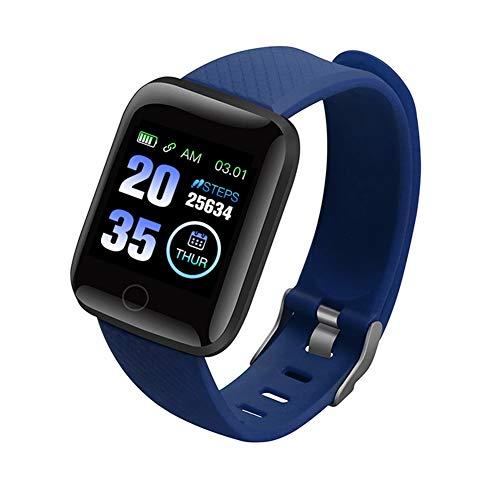 MEISI 116 PLUS Smart Watch Sports Bracelet Fitness Tracker Colorful Screen Smart Bracelet IP67 Waterproof Activity…