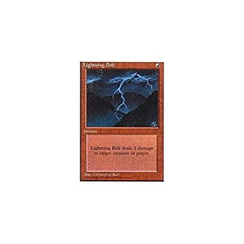 MTG Lightning Bolt Fourth Edition Common