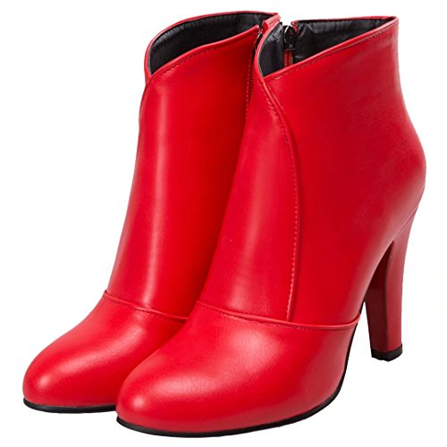 AIYOUMEI Women's Classic Boot Red xvzC8z