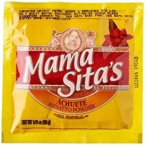 Annatto Powder de Mama Sita 10g - Annatto Powder es un agente ...