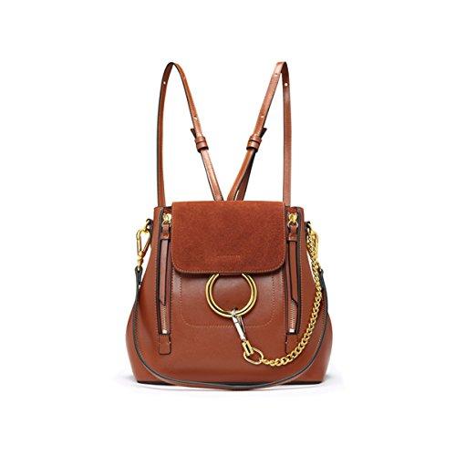 FairyBridal Women Real Leather Satchel Cross Body Handbags,Backpack 3 Colors