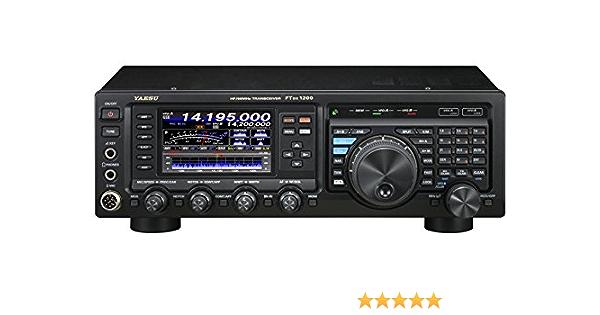 YAESU ft-dx1200 HF/50 MHz Amateur Radio Transceptor Base, 100 W