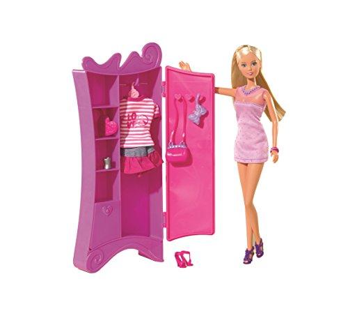 Armario Organizador Plastico ~ Simba Smoby Steffi Love Muñeca con armario y ropa quejugueteregalo es