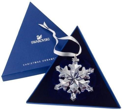 Swarovski Crystal Snowflake Ornament 2012
