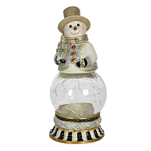 Lighted Snowy Outdoor Snowman in US - 3