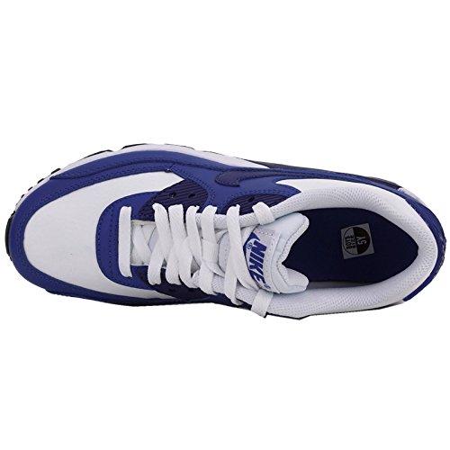 Nike Nike Air Max 90 Leather (Gs) Shoe - Zapatillas Unisex Niños blau