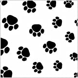 240 Puppy Paws Print Tissue Paper, 20''x30'' Sheets