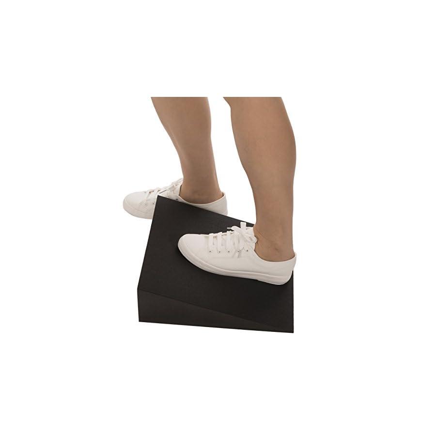 Squad Goods Foam Slant Wedge Calf Stretcher for Plantar Fasciitis Relief 1 Pair
