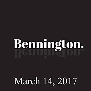 Bennington, Disco Dan, March 14, 2017 Radio/TV Program