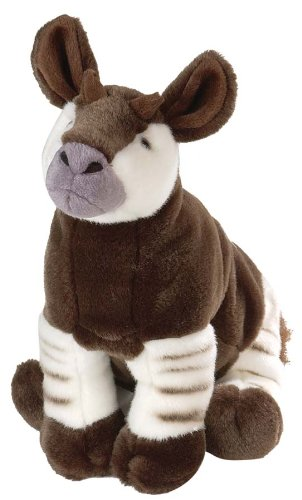 Plush Okapi Cuddlekin 12""