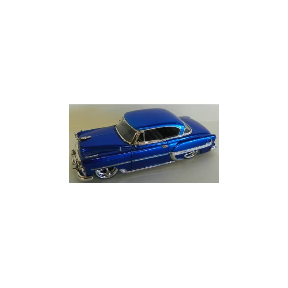 Jada Toys 1/24 Scale Diecast Big Time Kustoms 1953 Chevy Bel Air in Color Blue