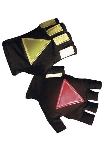 (Hatch DNR100 Daynite  Reflective Glove, Black, Large/X-Large)