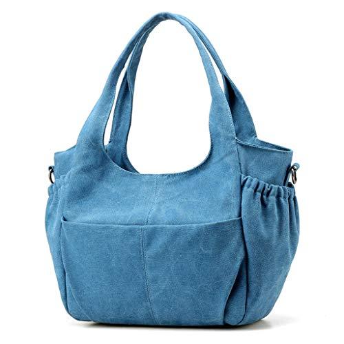 Lxf20 Sac à bandoulière pour femmes sac à bandoulière mode imperméable à l'eau College Multicolor sac Blue