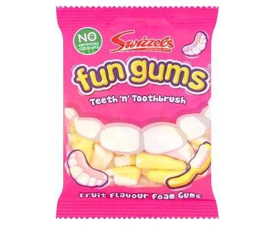 Swizzels Matlow Fun Gums Teeth n Toothbrush (6 (Fun Gums)