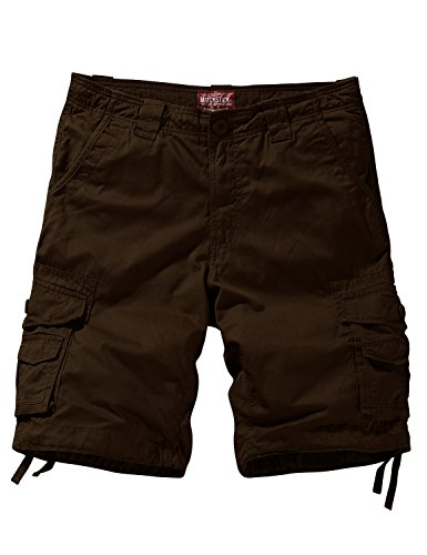 Match Men's Comfort Cargo Short (Label Size S/29 (US 28) 3058 Brown)