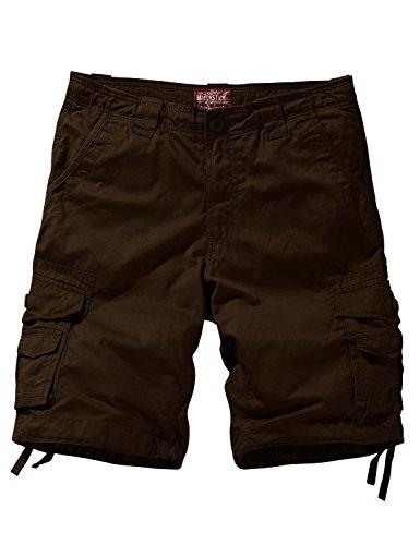 Match Men's Comfort Cargo Short (Label Size S/29 (US 28) 3058 Brown) ()