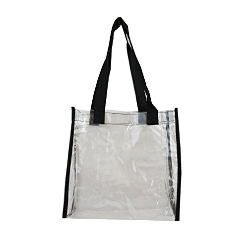 Xtitix Clear Tote Bag with Black Handle