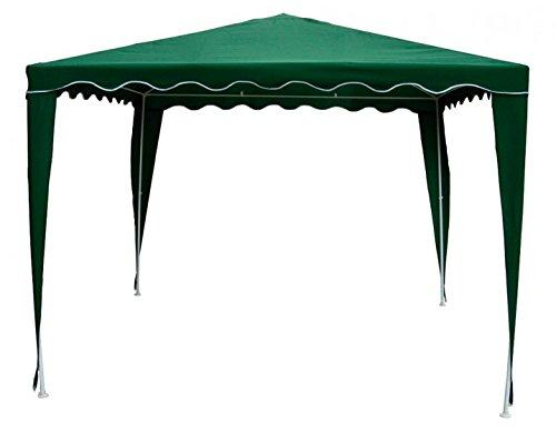 8704N2 - Zelt, 3 X 3 m, mit geschwungenem Rand, Grün