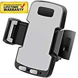 【2020 Newest Version !】 Car Phone Mount Phone Holder for Car Universal Smartphone Compatible with iPhone Xs XS Max XR X 8 8+ 7 7+ SE 6s 6+ 6 5s 4 Samsung Galaxy S10 S9 S8 S7 S6 S5 S4 Huawei and More
