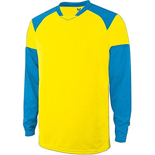 高5大人用Spector Goalkeeper Jersey B00HYD56SC Small|Power Yellow/Power Blue Power Yellow/Power Blue Small