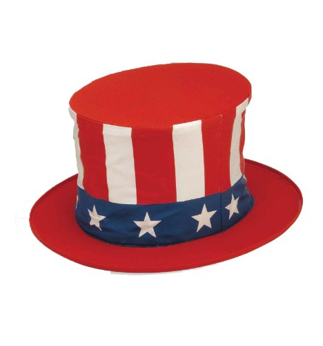 [Forum Collapsible Uncle Sam Hat (Child Size)] (Uncle Sam Halloween Costumes)