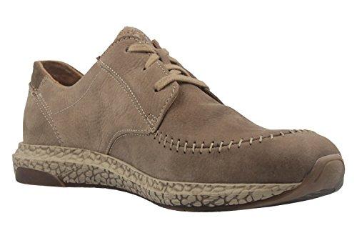 Josef Seibel , Chaussures de ville à lacets pour femme marron taupe