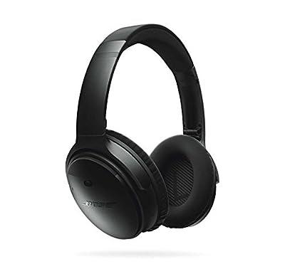 Bose QuietComfort 35 Noise Cancelling Over-ear (Silver) & SoundSport In-ear (Citron) Wireless Bluetooth Headphone Bundle