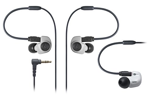 Audio Technica ATH IM50 Dual symphonic driver In ear Monitor headphones White  Japan Import