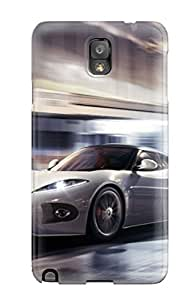 Tough Galaxy YoyHJMf4779UcLDa Case Cover/ Case For Galaxy Note 3(white Car Traveling At High Speed)