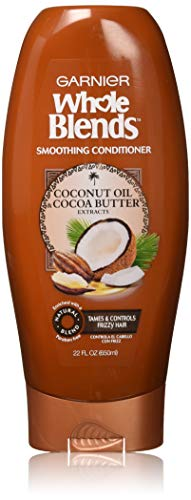 Garnier Whole Blends Conditioner with Coconut Oil & Cocoa Butter Extracts, 22 fl. -