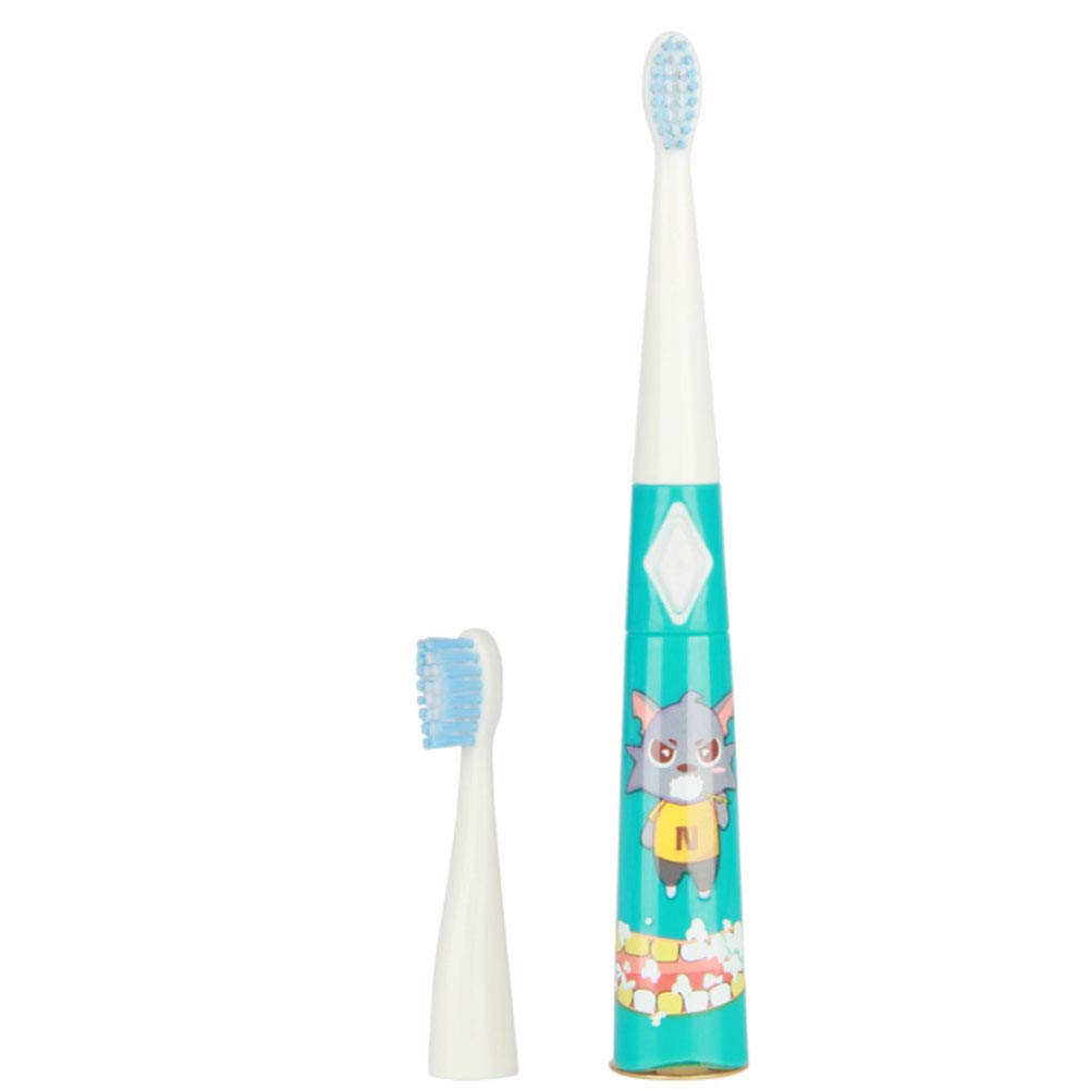 Children's cartoon creative toothbrush sound wave electric toothbrush soft hair