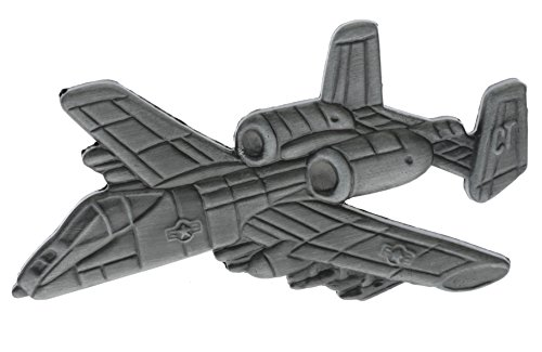 - A-10 Thunderbolt Aircraft Hat or Lapel 2 1/2 Inch Pin HON16132