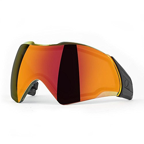 Push Unite Lens Chrome Red by Push Paintball