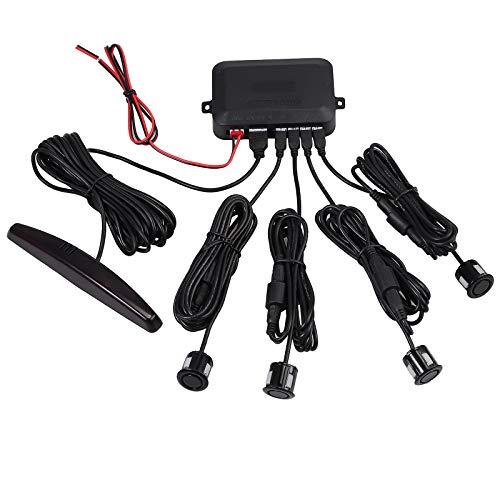AUTOUTLET Rear Reversing Car Parking Sensors 4 Sensors: Amazon.co.uk: Electronics