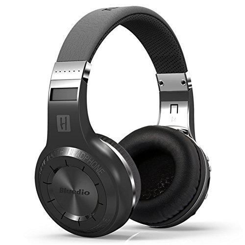 Click to buy Bluedio H+ Headset Super Bass Stereo Wireless Bluetooth 4.1 Headphone With Microphone (Black) - From only $14.99