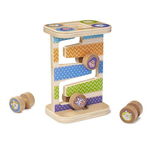 Melissa & Doug Safari Zig-Zag Tower Early Development Toy