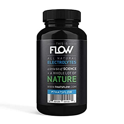 All Natural Salt Tablet Supplement for Rapid Rehydration, Electrolyte Replacement and Cramp Prevention (60 Pills)