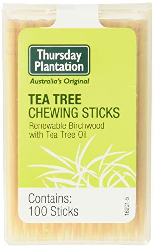 (Nature's Plus Tea Tree Thursday Plantation Toothpicks, 100 Count)
