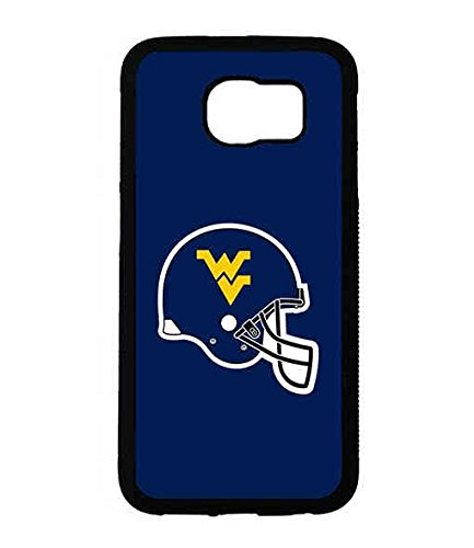 NCAA Team Logo Sports Theme Samsung Galaxy S6 Case West Virginia,WVU Snap On Cool Pattern Cover For Girls